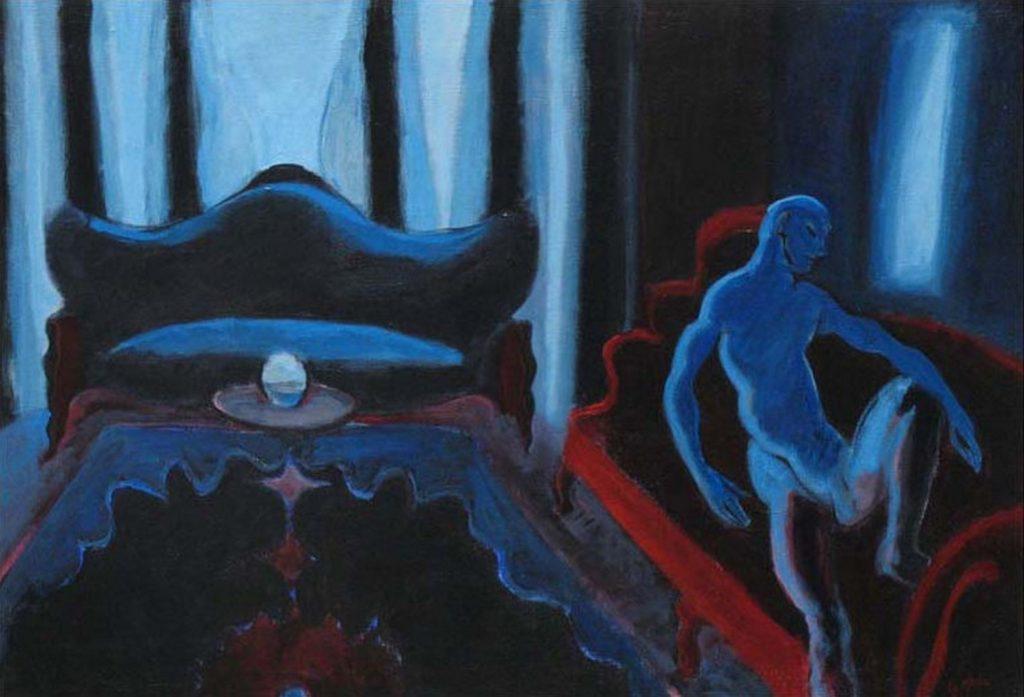 Nude in a Dark Room 2